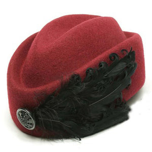 Stewardess Wool hat