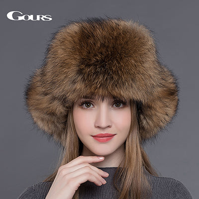 New Russian Winter Rabbit Fur Berets for Women