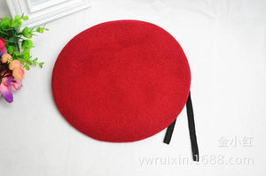 Outdoor Breathable Woolen Military Beret Hats