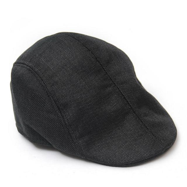 New Autumn Winter Casual Linen Berets