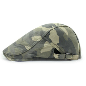 100% Cotton Camouflage Military Style Beret