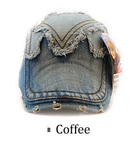 Autumn Winter Fashion Denim Jeans Beret