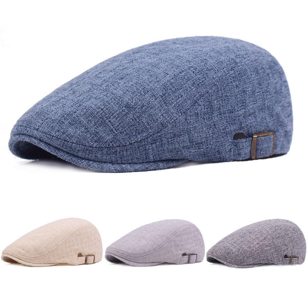 Soft Winter Beret Caps for Men- Winter Fashion in Light Shades