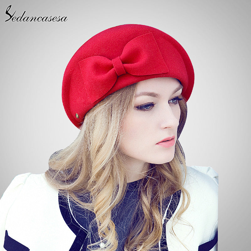 Sedancasesa British Style Wool Felt Hat