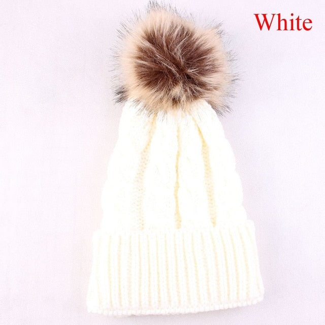 GraceAngie 100% Wool Beanie Hat