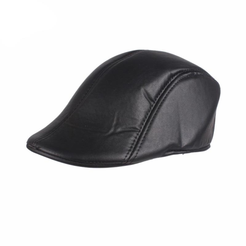 Newsboy Gatsby Drive Golf Flat Leather Berets