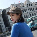 Cartoon Cotton-Wool Painter Cap
