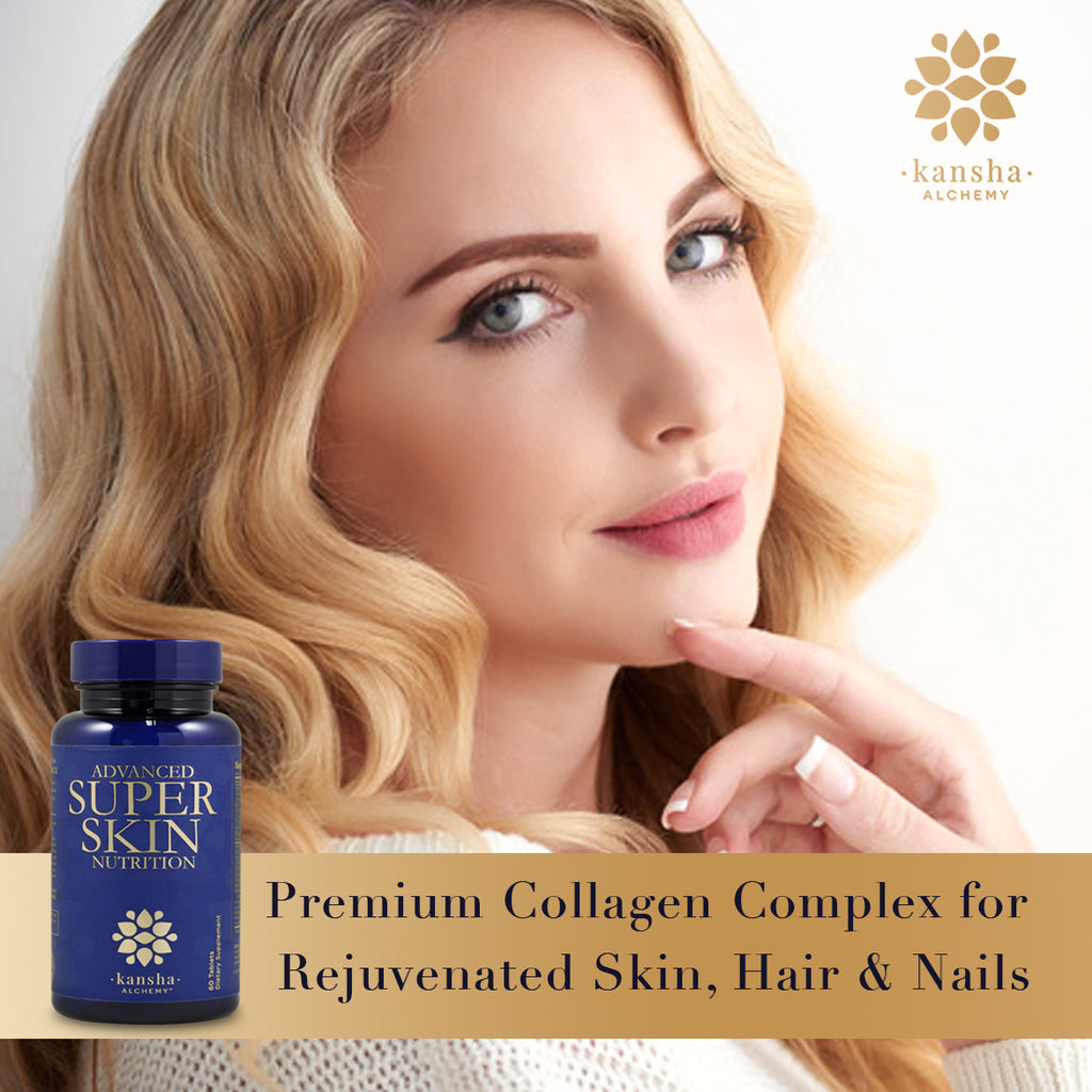 Advanced SUPER SKIN Nutrition Premium Collagen - 60 caps