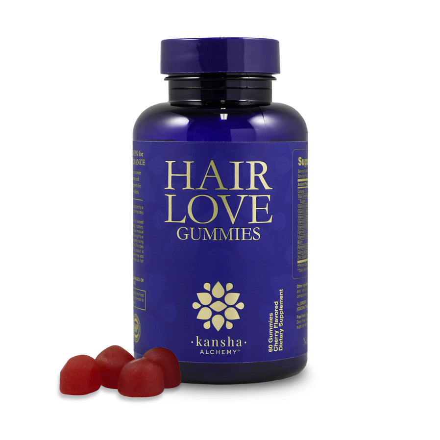 Hair Love Gummies - 60 cherry flavour chews