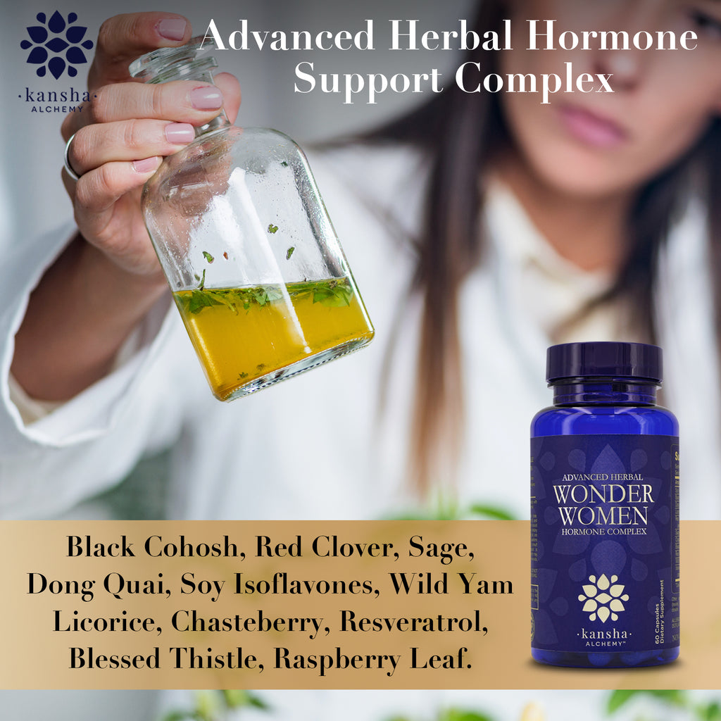 Wonder Women Advanced Herbal Hormone Complex - 60 caps