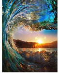 Rio de Janeiro Wave Sunset - Paint by Numbers™ DIY - Moderno Bay