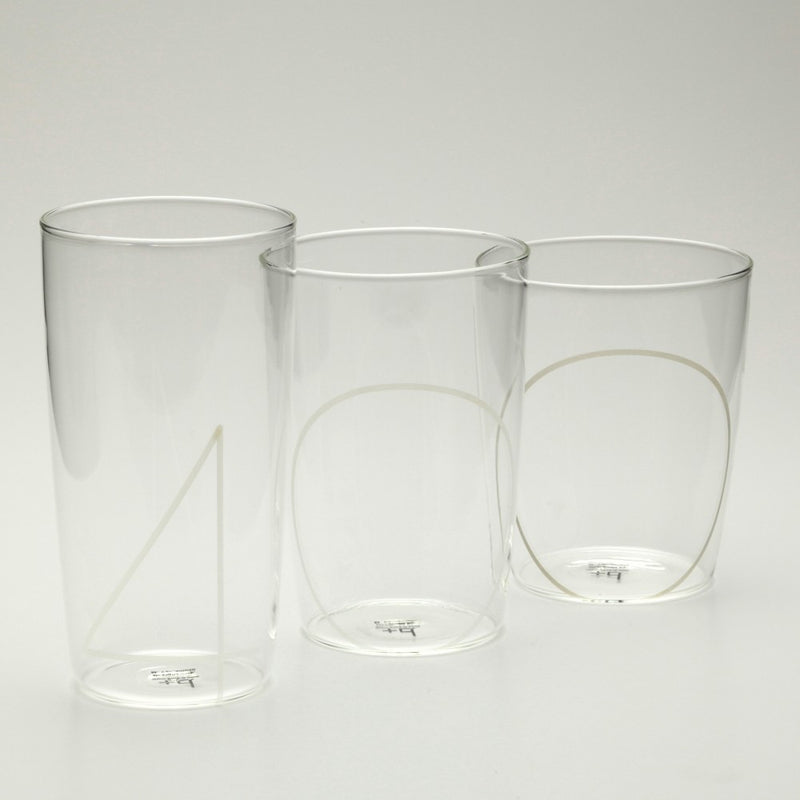 Plus D 3pc Glass Set
