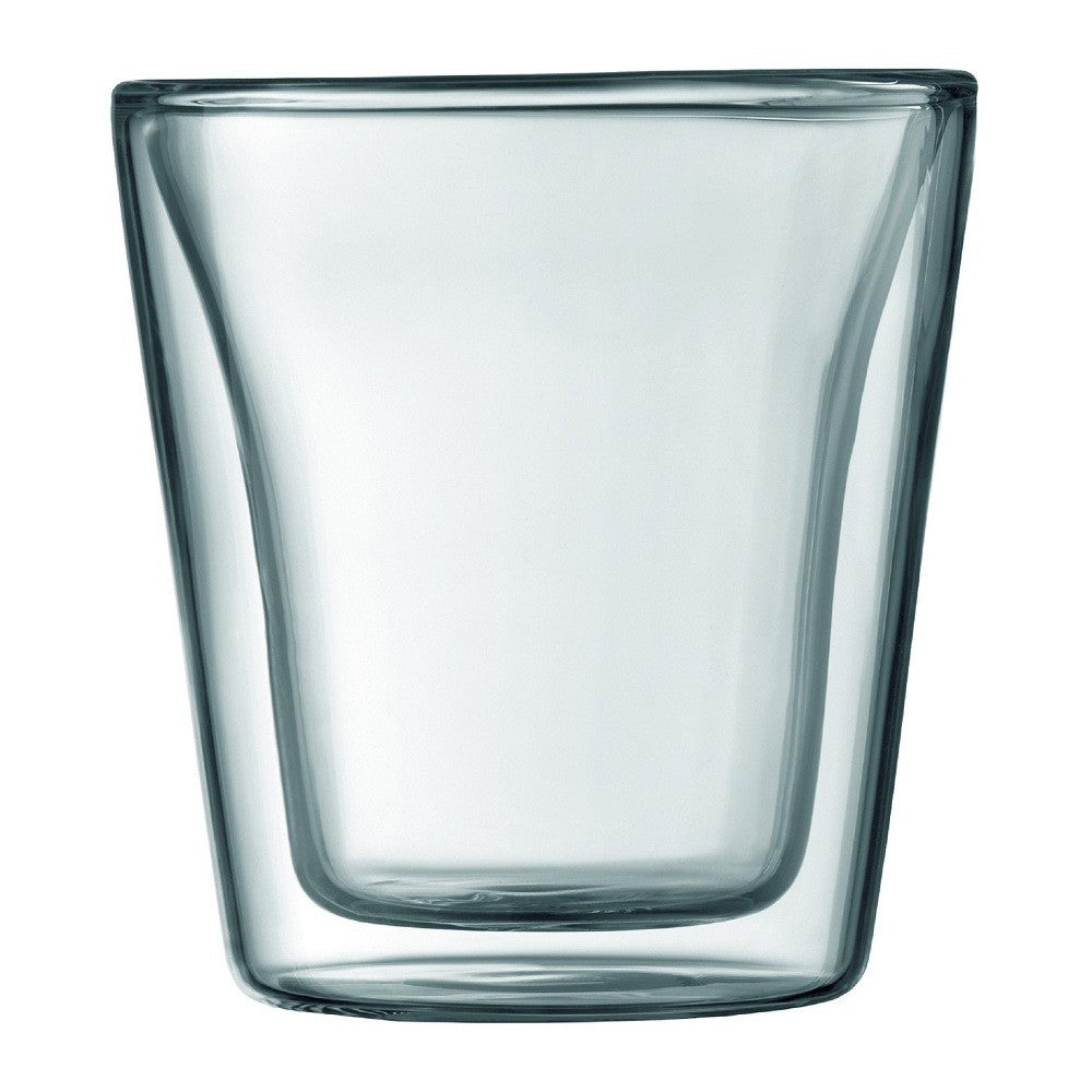 Bodum Canteen Double Wall Glass Set of 2