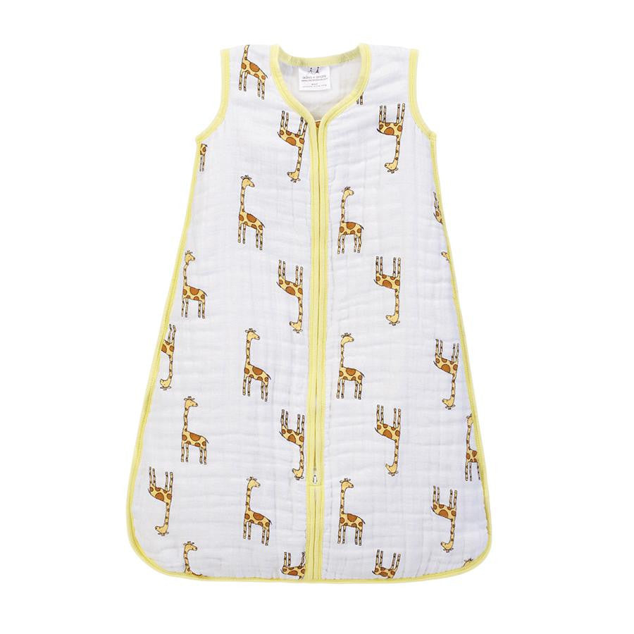 Aden + Anais Cozy Muslin Sleeping Bag - Jungle Jam, Giraffe