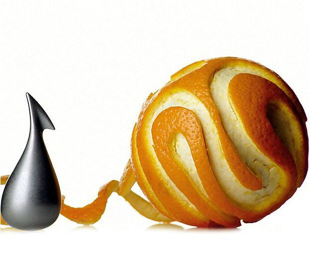 "Alessi ""Apostrophe"" Orange Peeler"