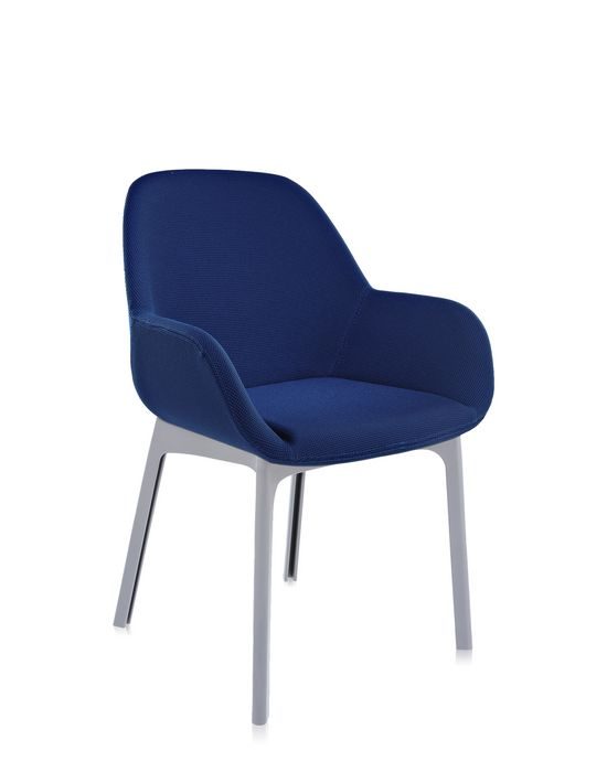 Kartell Clap Armchair - Gray Base