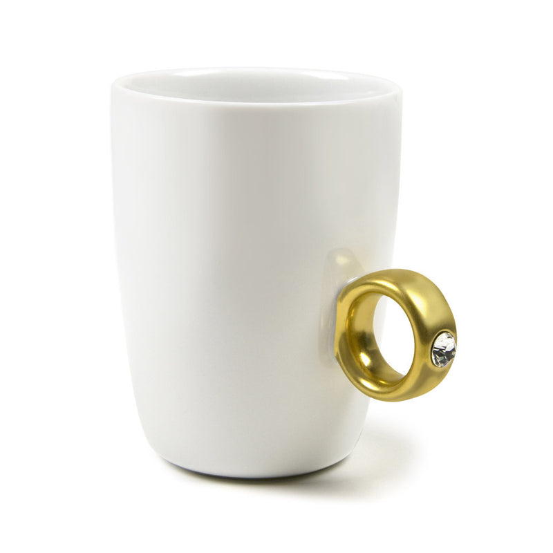 Fred & Friends 2-Carat Cup Ring-Style Mug
