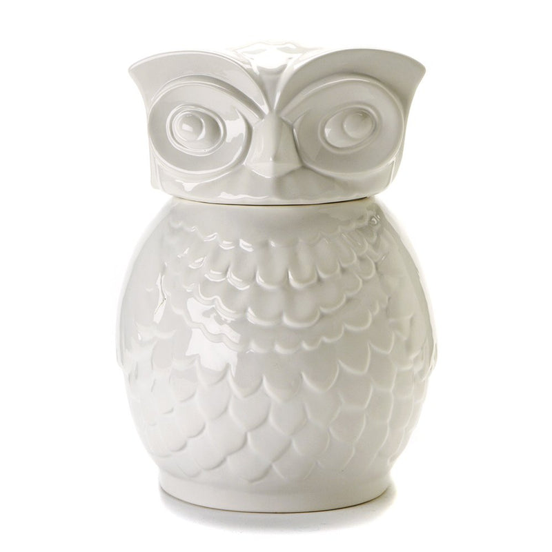 Two's Company Owl Cookie Jar