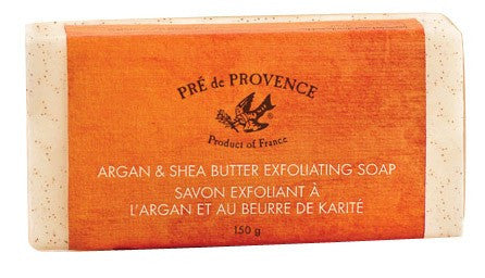 European Soaps Argan & Shea Butter Exfoliating Soap