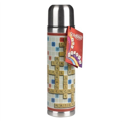 Wild & Wolf Scrabble Thermos