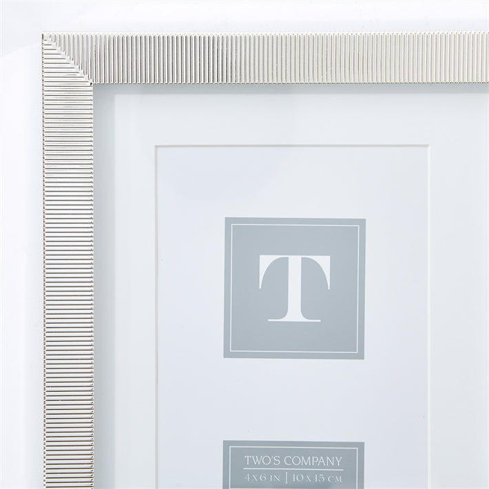 Two's Company Madison 4x6 Photo Frame