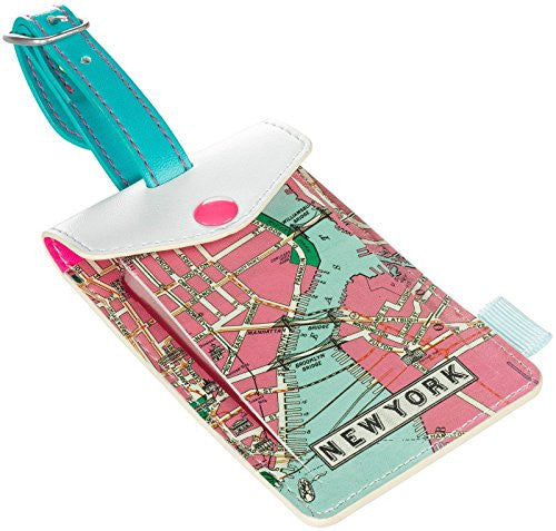 Wild & Wolf New York Luggage Tag