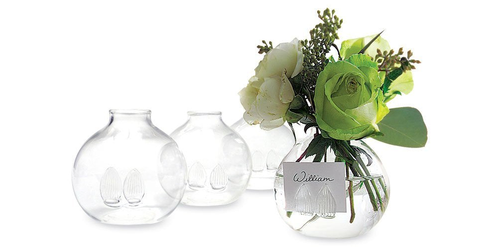 Two's Company Be Seated Flower Place Card Holders