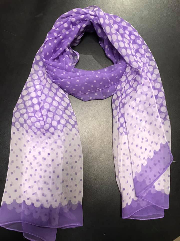 Two's Company 20800-20 Polka-Dots Scarf