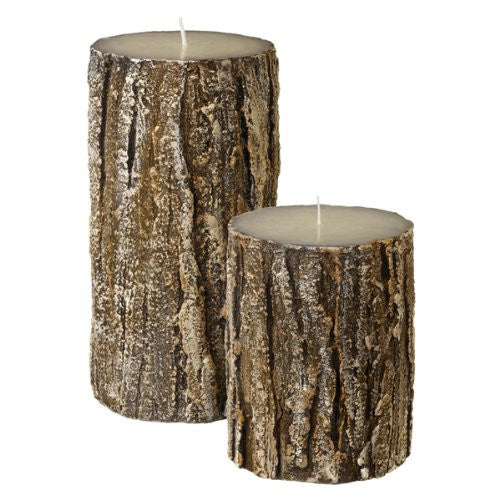 Grasslands Road Birch Candles Set