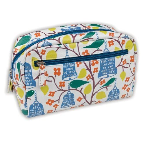 Wild & Wolf Rob Ryan Faux Leather Wash Bag