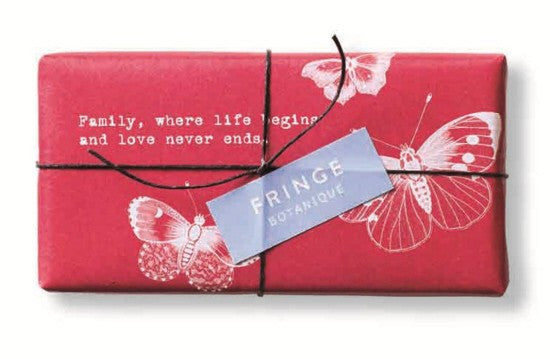 Fringe Studio Family Romantique 4 Oz Rectangle Soap