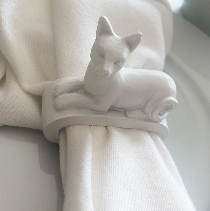 Naked Décor Cat Napkin Ring (Set of 4)