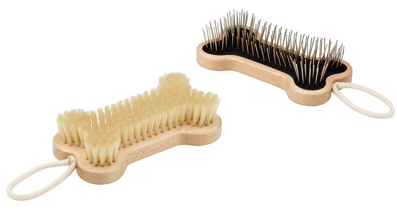 Oré Originals ORE' Pet Wood Bone Brush