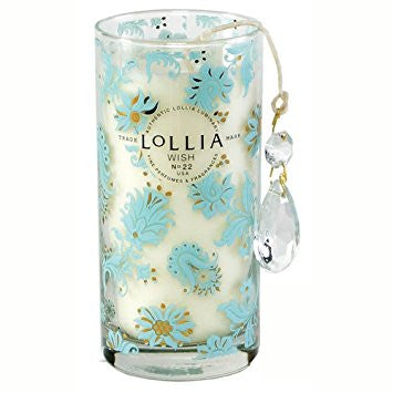 Lollia Wish Petite Perfumed Luminary Candle