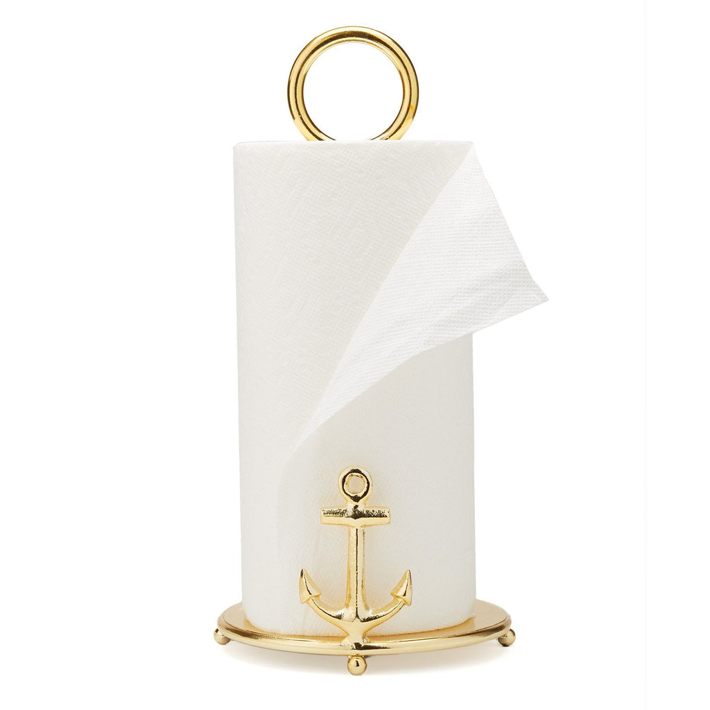 Two's Company Anchor Paper Towel Stand