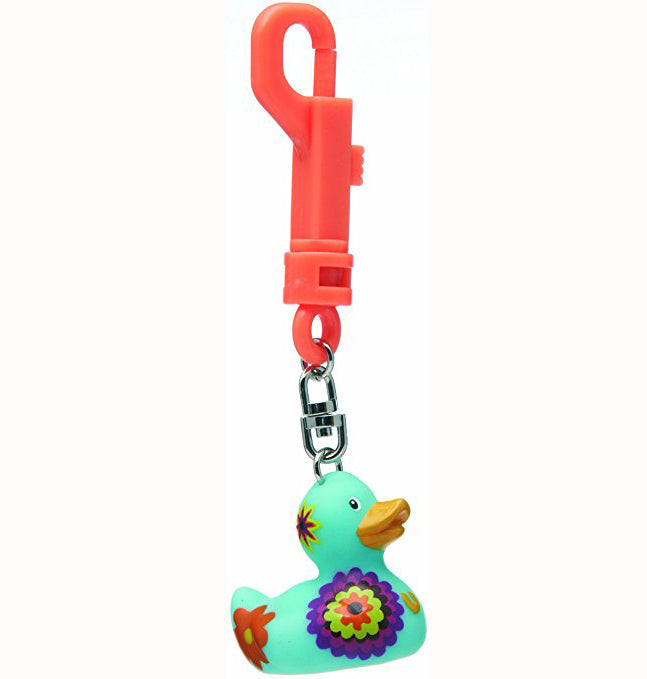 Present Time Duck Keyring - Bloom