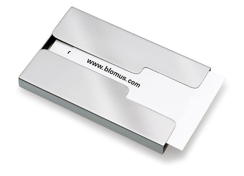 "Blomus ""Gents"" Sliding Business Card Case"