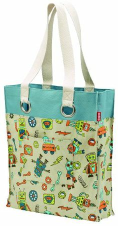 Oré Originals SugarBooger Living Goods Retro Robot Good Shopper