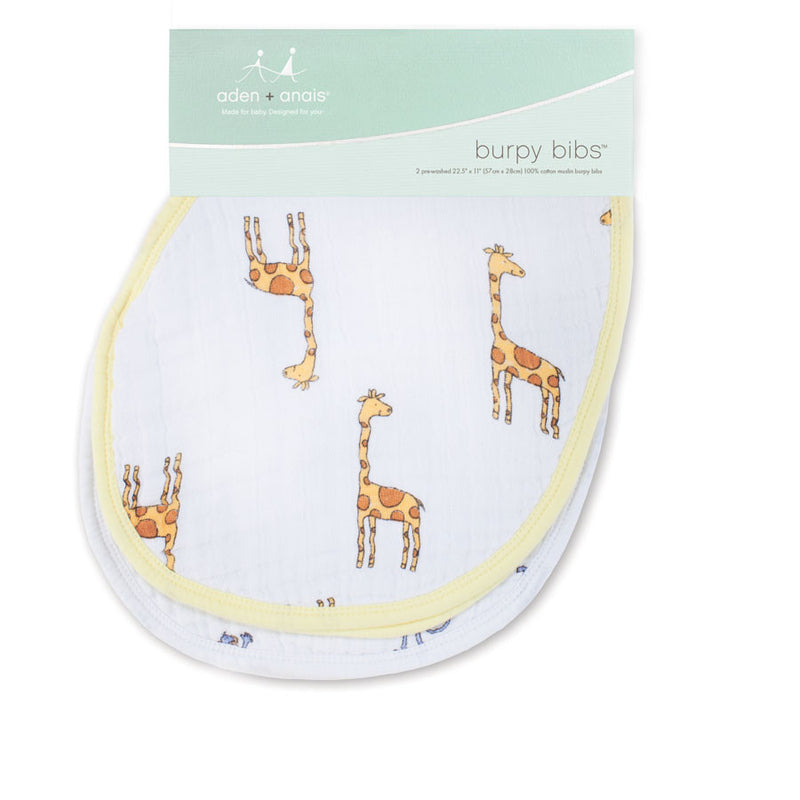 Aden + Anais Classic Burpy Bibs 2-Pack - Jungle Jam