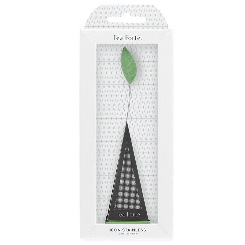 Tea Forte Icon Stainless Loose Tea Infuser