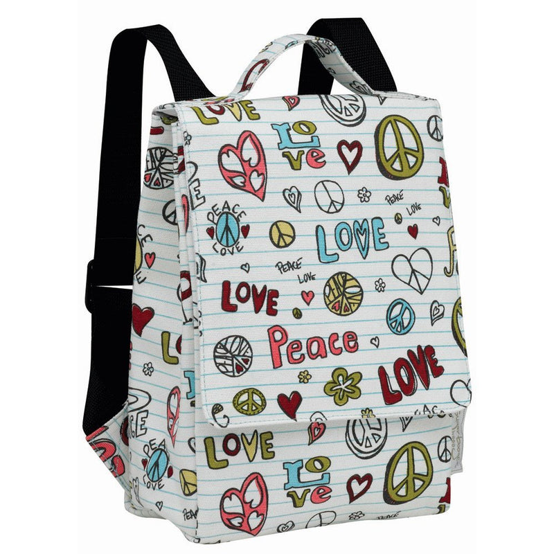 Oré Originals SugarBooger Peace Love Kiddie Play Back Pack