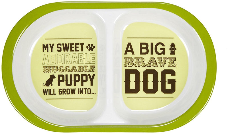 Oré Originals ORE' Pet Tiny Puppy Double Bowl Set
