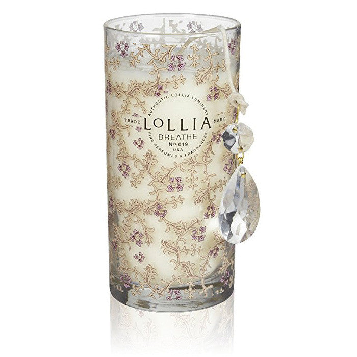 Lollia Breathe Petite Perfumed Luminary Candle