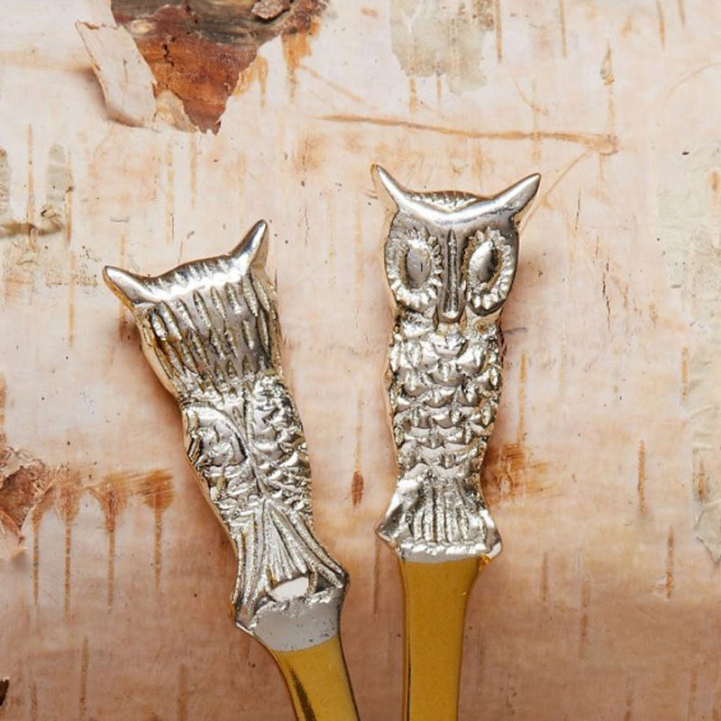 Two's Company Birds of a Feather Owl Spreaders