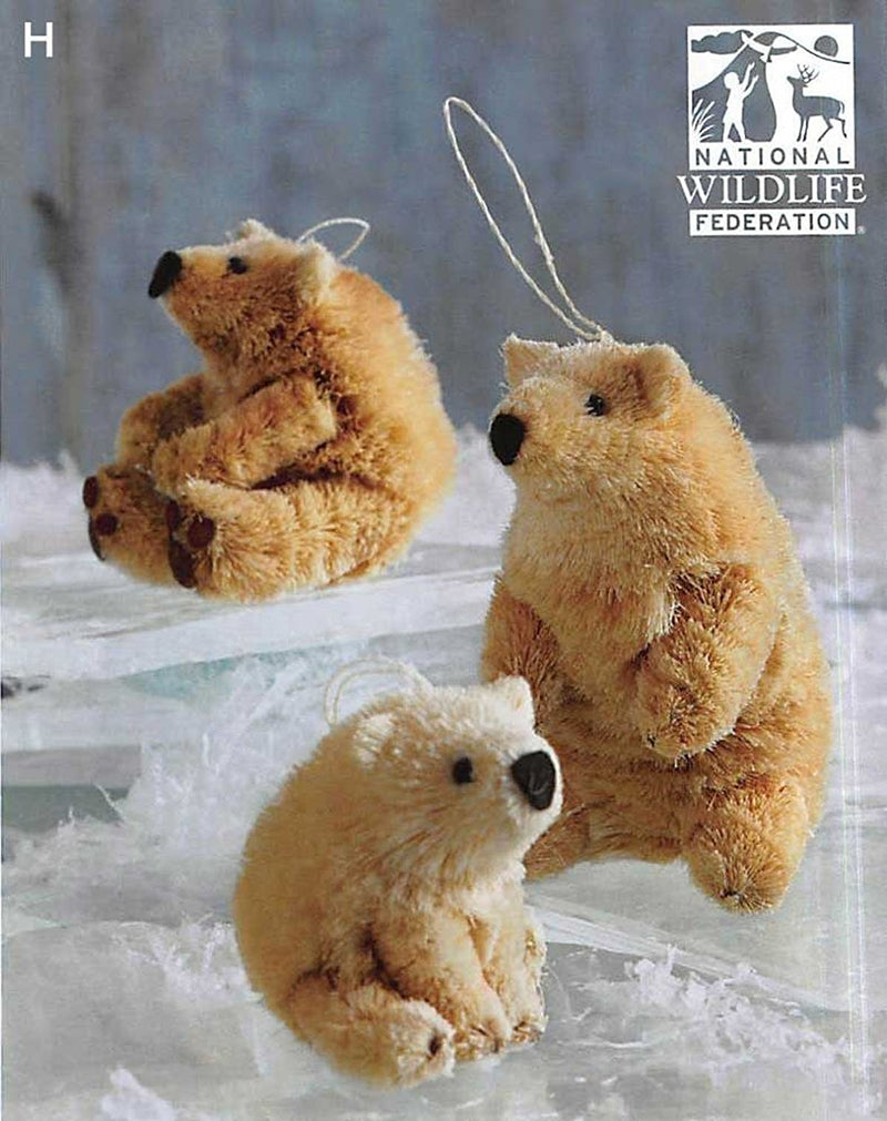 Roost Save The Polar Bear Ornaments
