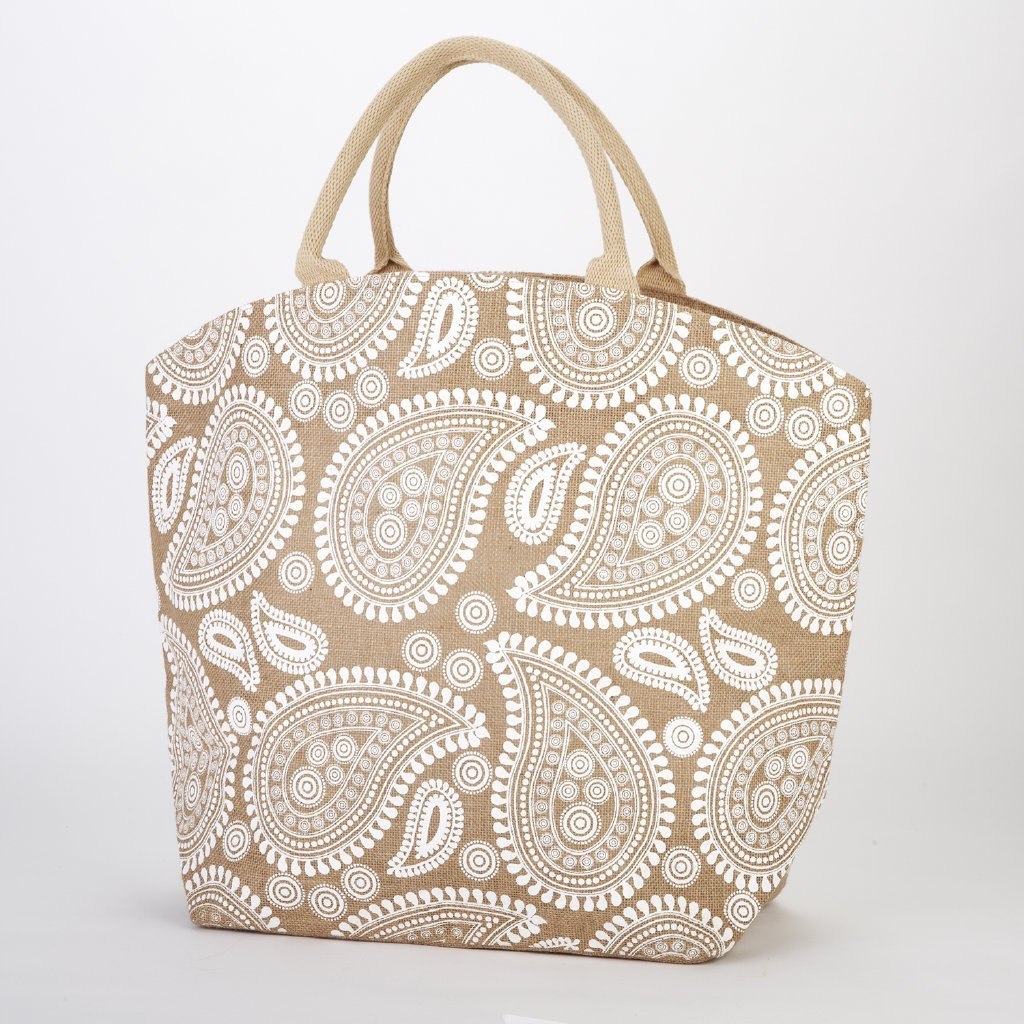 Two's Company Natura Jute Tote Bag