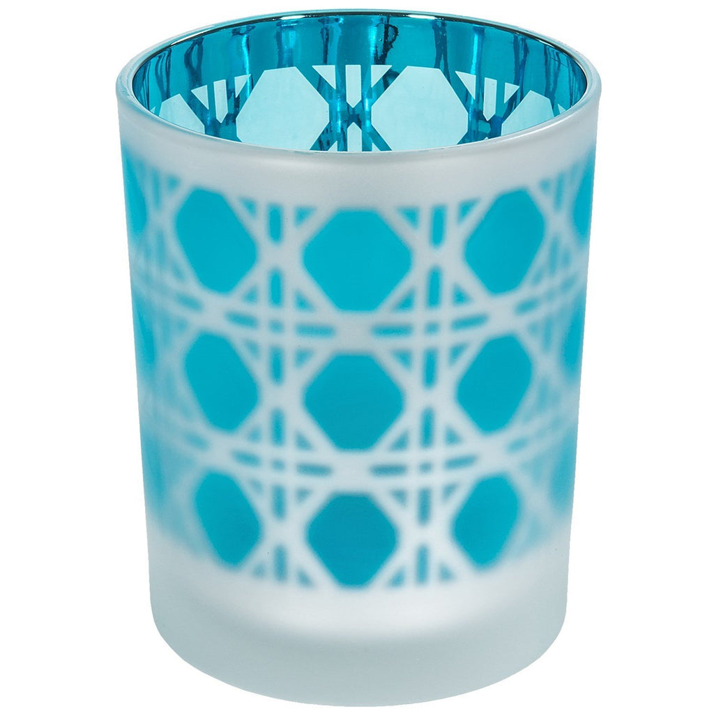 Two's Company Lattice Candle Holder