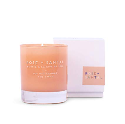 Paddywax Statement Candle -Rose + Santal