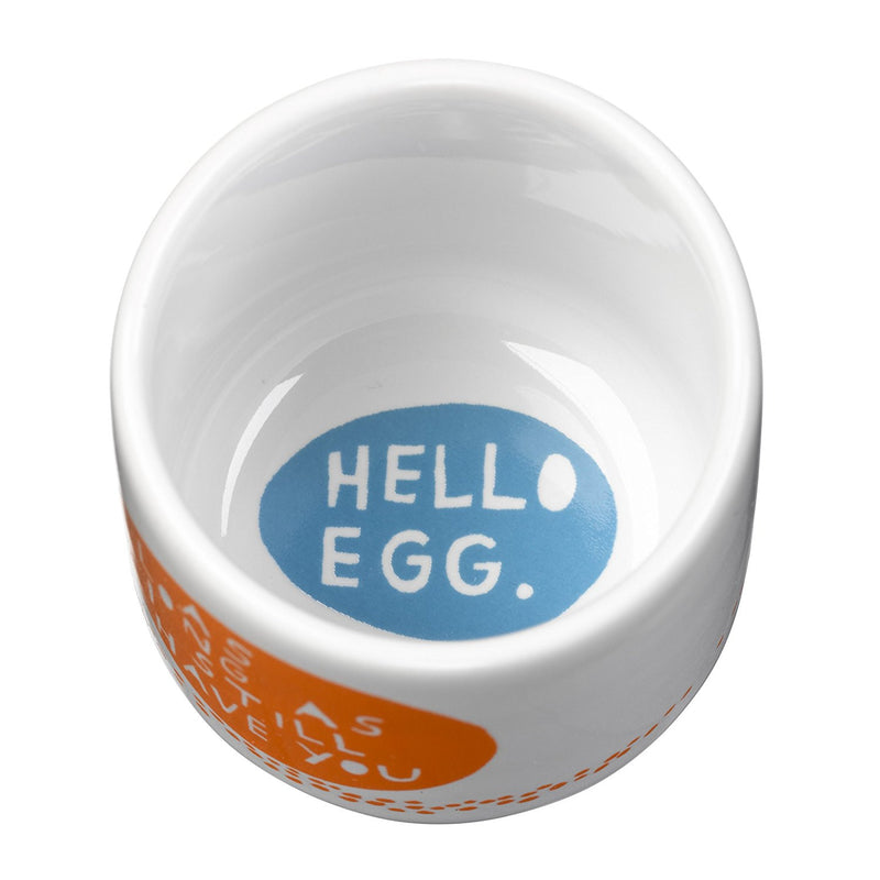 Wild & Wolf Hello Egg Set of Egg Cups