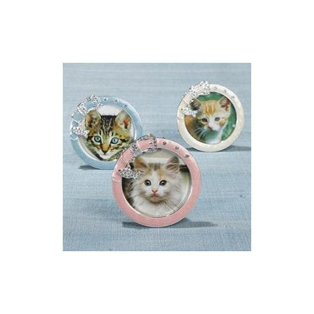 "Two's Company  Must Love Cats Photo Frame - 3"" x 3"""